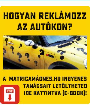 MatricaMágnes.hu - Hogyan reklámozz az autókon? Ingyenes tippgyűjtemény vállalkozóknak